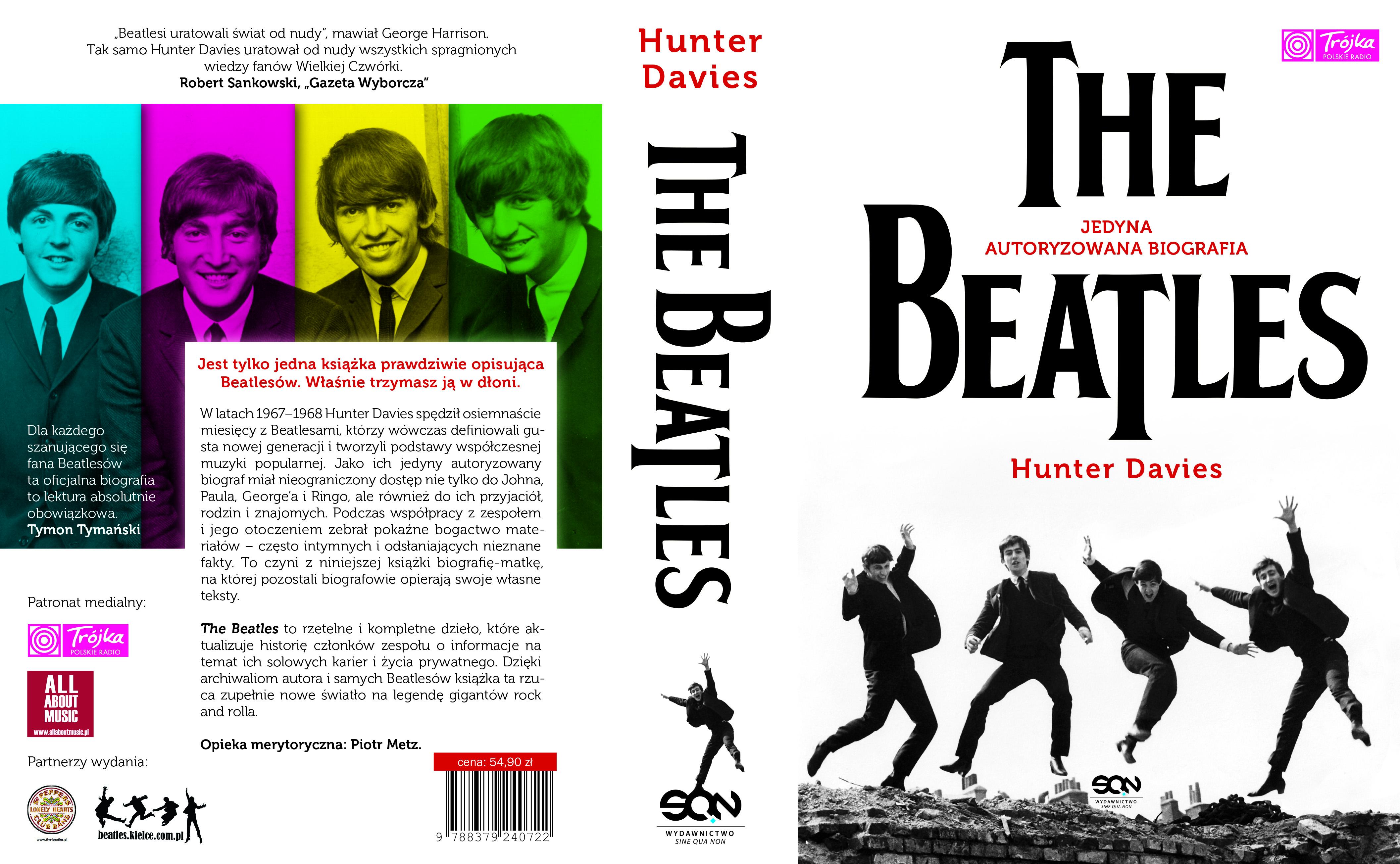 """The Beatles Polska: Konkurs z okazji wznowienia książki Huntera Daviesa """"The Beatles. Jedyna autoryzowana biografia"""""""
